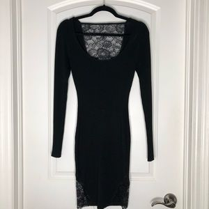 Guess Long Sleeve Bodycon Dress